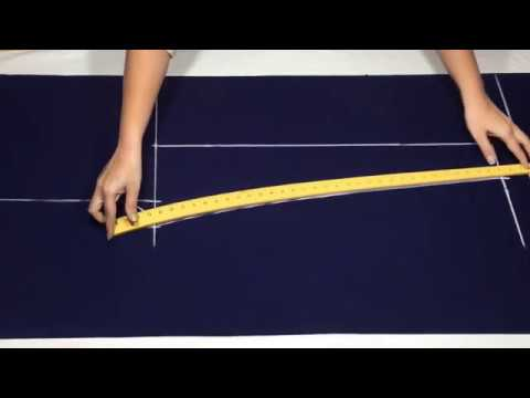 Narrow Palazzo Pants cutting and stitching (Very Easy Way)