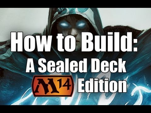 MtG- How to Build A Sealed Deck: M14 Edition