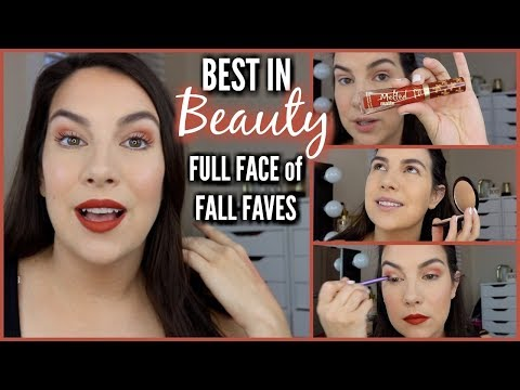 FULL FACE of FALL FAVES! Best in Beauty | October 2017