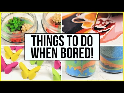 Things To Do When You're Bored At Home & During Summer Holidays! What To Do When Bored Part 3