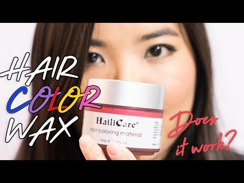 Does it work? HailiCare Hair Color Wax