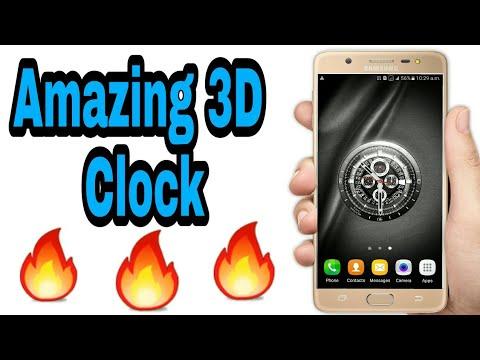 [🔥]2018 Digital Analog Clock Wallpaper Live Android app Review