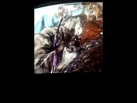 Serana is Flying on Xbox 360