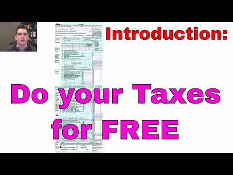 How to file your taxes for free: With Free Fillable Forms (Intro)