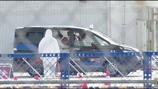 Passengers Start Disembarking from Virus-hit Diamond Princess in Japan