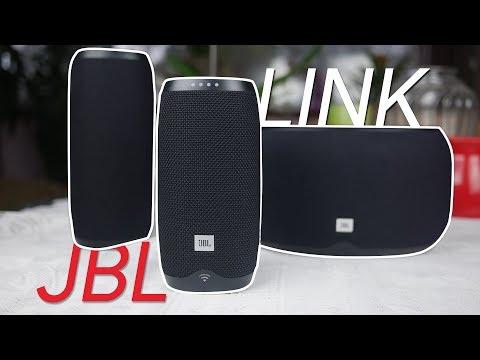 JBL Link 10, 20, 300 smart speakers Review