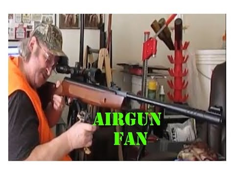 Airgun Fan EP85 Striker & Trail tested & backstop results