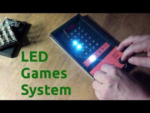 Build - Retro LED Games System - Arduino