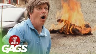 Puppy On Fire, Snake Charmers, and Monster Frogs Pranks - Throwback Thursday