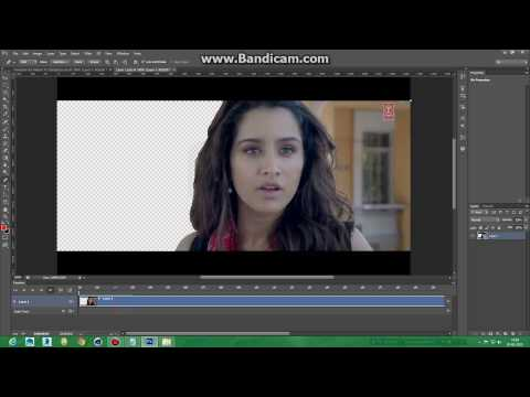 Photoshop cs6 how to remove background of a video