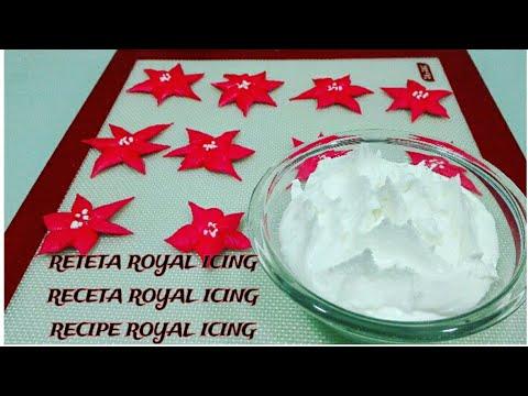 HOW TO MAKE ROYAL ICING.CUM SA FACI ROYAL ICING.COMO HACER ROYAL ICING.
