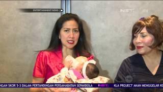 Venna Melinda Ajak Putri Asuhnya Untuk Menjalani Vaksinasi