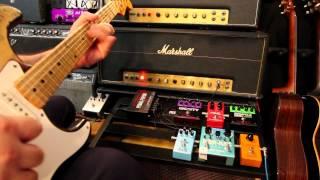 Van Halen - Distorted Phase, Echo & Chorus Tricks