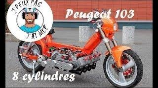 Peugeot 103 Diabolique - 8 Cylindres / 400 cm3