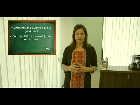 Registering a lost baggage claim | Travel Claims Speak