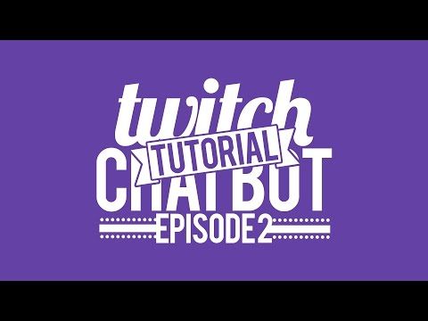 mIRC Tutorial - How to make a Twitch Chat Bot #2 - Basic Scripts - Twitch Commands