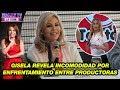 Gisela Valcárcel revela incomodidad por enfrentamiento entre productoras