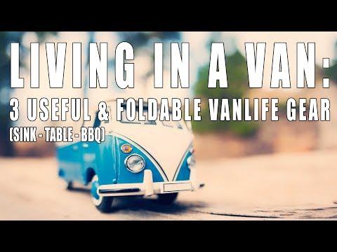 Three Useful & Foldable Vanlife/Camping Gear #realvanlife