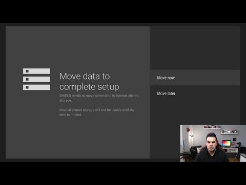 RESTORE EXTERNAL STORAGE TO INTERNAL STORAGE ON THE NVIDIA SHIELD TV