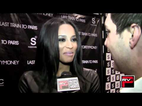 Ciara at the DiddyDirtyMoney release party for Last Train To Paris at SupperClub LA