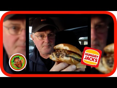 Hungry Jacks (Burger King) Grill Masters Angus Bacon & Cheese | Food Review