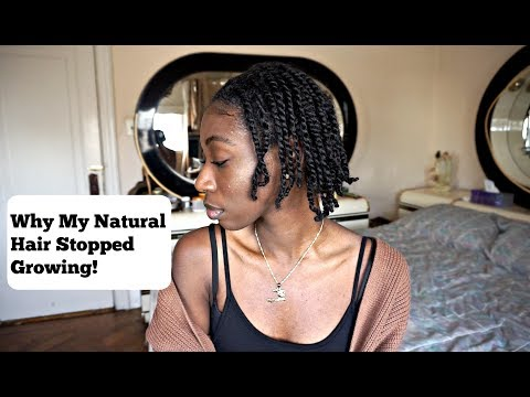 Why your natural hair is not growing! | How to make your hair GROW in 2018!