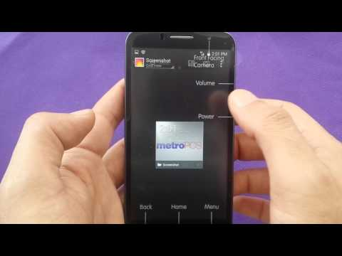 Take Screenshot With Alcatel Fierce 2 For Metro Pc