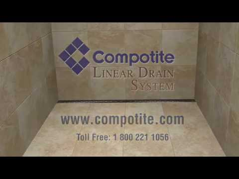 Compotite Linear Drains - Installation Video