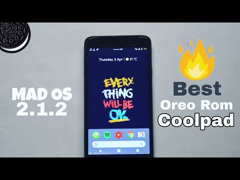 [All bugs Fixed] Android 8.1.0 Mad Os v2.1.2 Rom for coolpad note 3 and lite