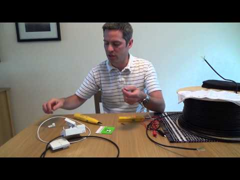 How to trace and track wires using a cable tracker