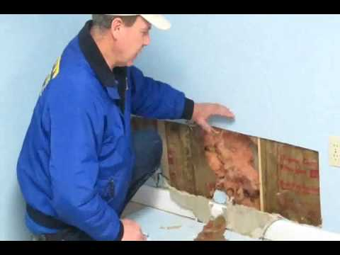 Drying Wet Walls - Removal,  Flooded Basement Cleanup, Acton Concord Sudbury Wayland MA