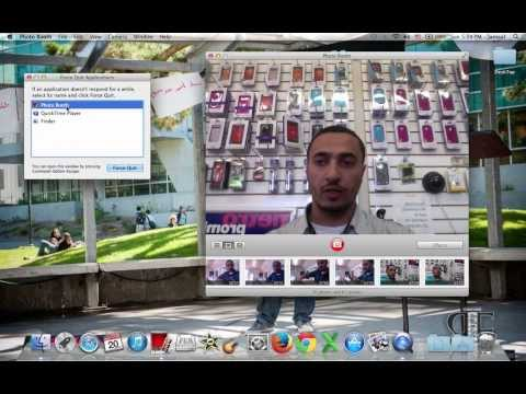 How to Close fix Frozen Stuck not operating Applications on MacBook pro air iMac