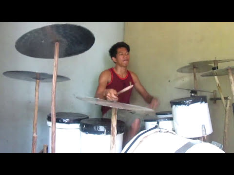 Homemade drum set by: Janu Fitriadi - Breaking Benjamin _ I Will Not Bow (Drum Cover)
