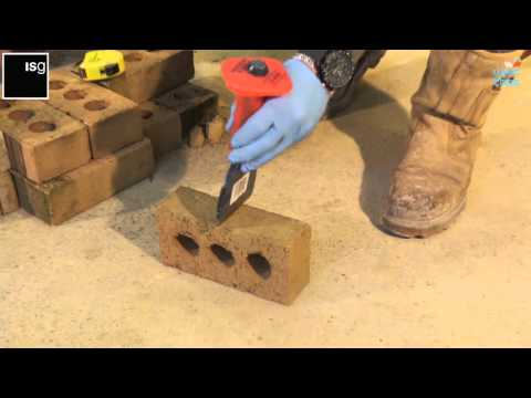 How to cut bricks