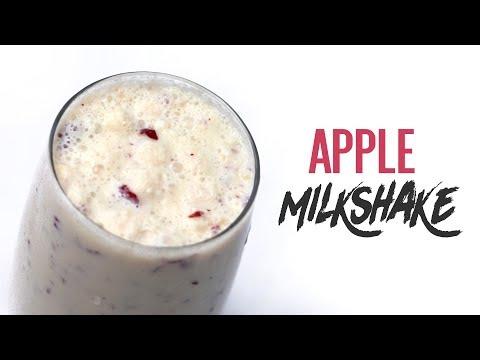 Home Made Apple Milkshake Recipe | Healthy Apple Smoothie Recipe | Online Kitchen | WOW Recipes