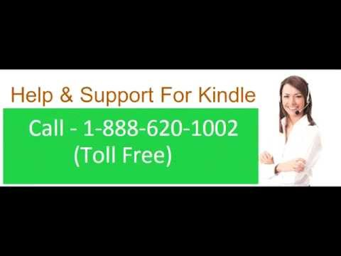 kindle Tech Support Phone Number