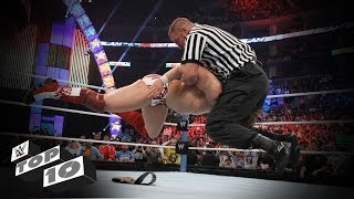 Guest Referees Wreck Superstars: WWE Top 10