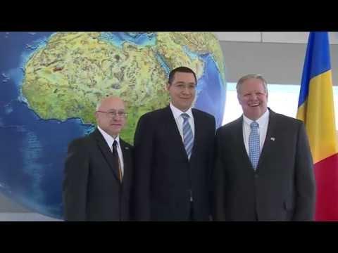 Houston - Texas - Premierul Victor Ponta a vizitat Centrul tehnologic al ExxonMobil
