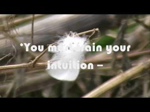 Intuition by Ingrid Bergman