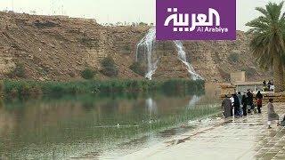 الرياض.. غبار فأمطار