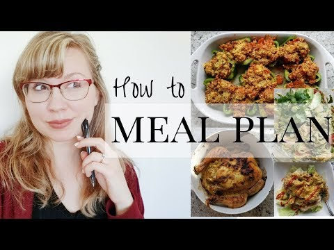 How To Meal Plan & Prep For The Week | Paleo Keto Low Carb Meal Ideas