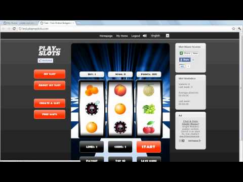 Create and Play free online Slots - Create your own Game!