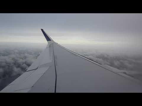 [HD 1080p]   jetBlue Mint A321   Landing 4R Boston in Mist