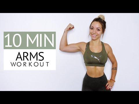 WORKOUT - HOW TO GET TONED ARMS IN 10 MIN !