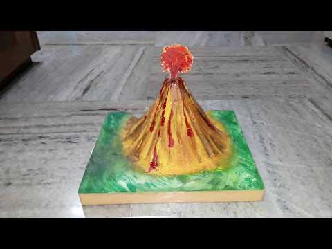 Volcano  model  geo  project