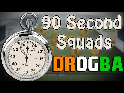 FIFA 14 - 90 Seconds Squads - Cheap 10k Starter Squad feat. DROGBA