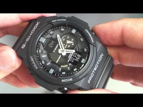 Black Casio G-Shock GA150-1A Anti-Magnetic Watch.