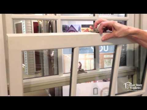 Marvin Ultimate Double Hung Windows - Tilt-Out Demonstration