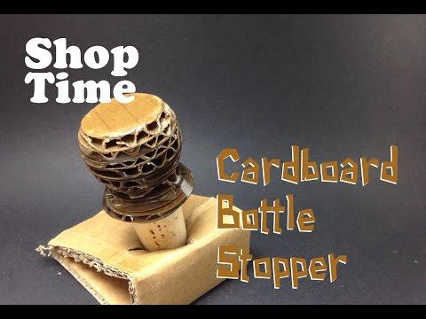 Cardboard Bottle Stopper