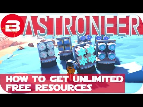 Astroneer Gameplay - HOW TO CHEAT RESOURCES FOR FREE!!! Let's Play Astroneer Early Access